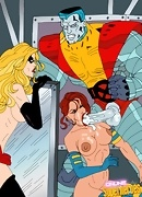 X-men sexiest heroes in xxx scenes gallery